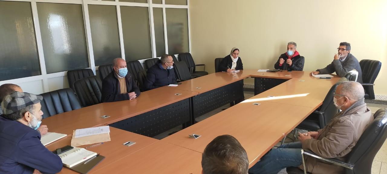 صورة مقاطعة سايس فاس: اجتماع لجنة التعمير والبيئة