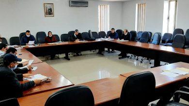 صورة إجتماع اللجنة المكلفة بالبيئة و التعمير