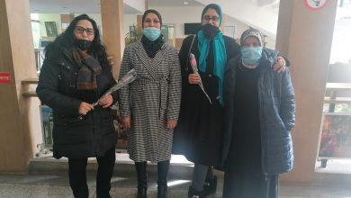 صورة مواكبة مقاطعة أكدال لاحتفالات المرأة بعيدها الأممي