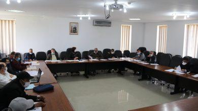 صورة اجتماع اللجنة المكلفة بالمرافق العمومية