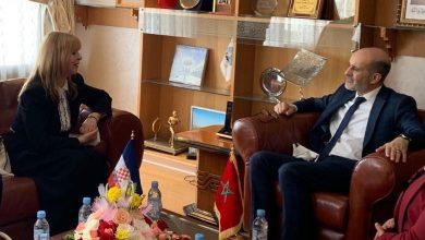 صورة سعادة سفيرة جمهورية كرواتيا بالرباط في زيارة لجماعة فاس